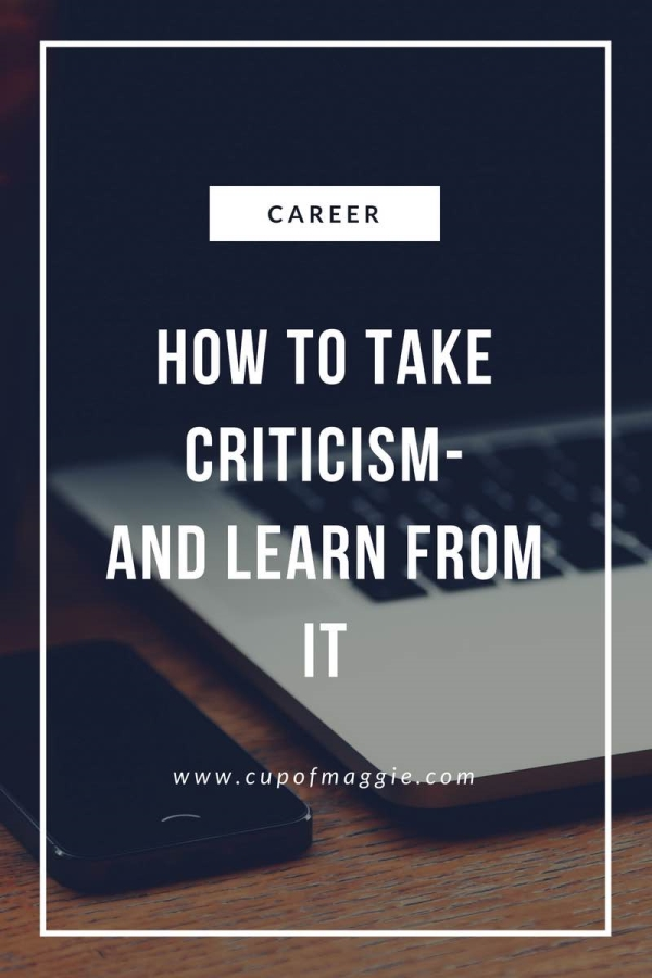 laptop, phone, career advice, criticism, lifestyle blog