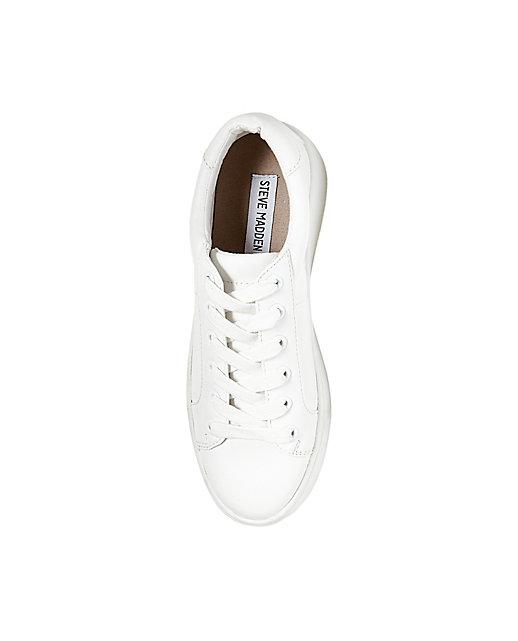 steve madden white sneaker bertie