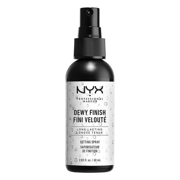 nyx setting spray dewy and long lasting