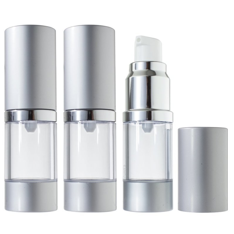 airless pump travel bottles for foundation