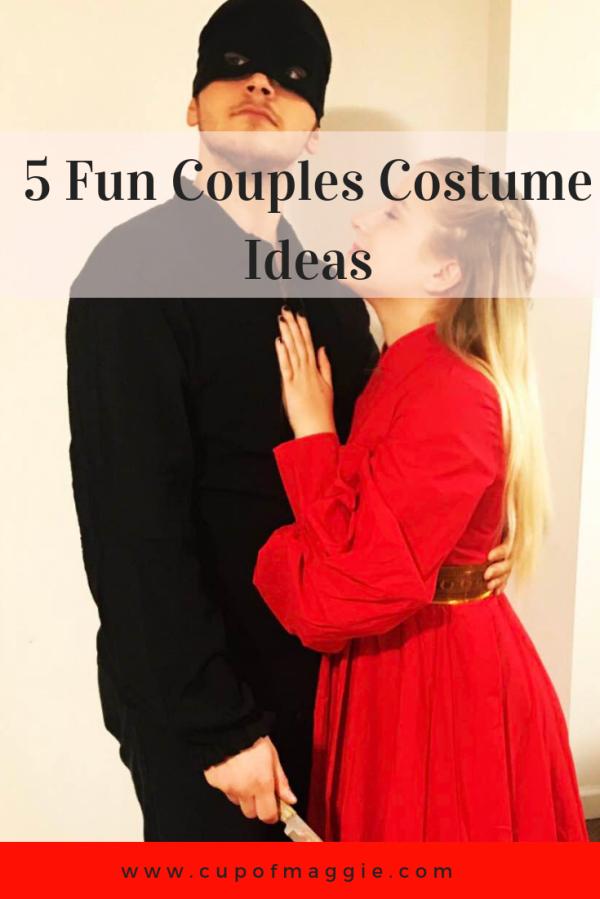 5 Fun Couples Costume Ideas